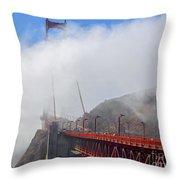 Golden Gate Bridge San Francisco California Throw Pillow