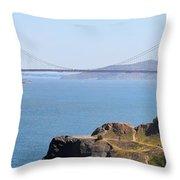 Golden Gate Panorama 8027 8030 Throw Pillow
