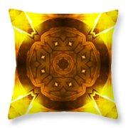 Golden Harmony - 2 Throw Pillow
