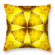 Golden Harmony - 4 Throw Pillow