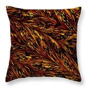 Golden Harvest Throw Pillow