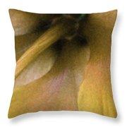 Golden Hibiscus 2616 Throw Pillow