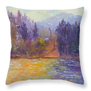 Golden Lake Gregory Throw Pillow