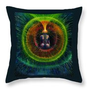 Golden Lead Throw Pillow by Kd Neeley