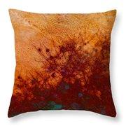 Golden Light - Nature Art Throw Pillow
