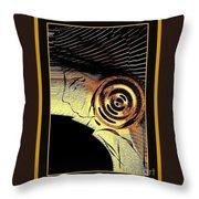 Golden Nile Throw Pillow