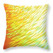 Golden Red Colors Throw Pillow