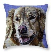 Golden Retriever - Molly Throw Pillow