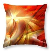 Golden Tulip - Marucii Throw Pillow