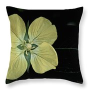 Golden Wild Beauty Throw Pillow