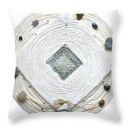 Golden Jerusalem Lemuria Healed Love Throw Pillow