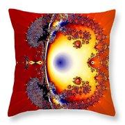 Goldfish Bubble Throw Pillow