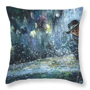 Golf Delirium Nocturnum 01 Throw Pillow