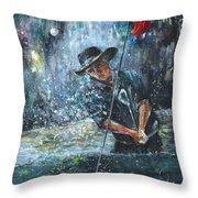 Golf Delirium Nocturnum 02 Throw Pillow