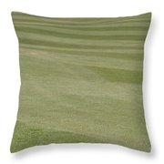 Golf Grass Throw Pillow