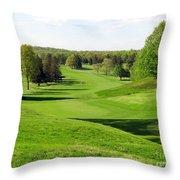 Golfer's Dream Throw Pillow