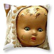 Golly Dolly Throw Pillow