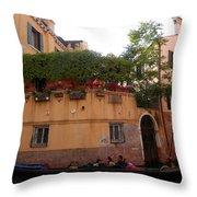 Gondola Ride 1 Throw Pillow