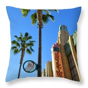 Gone Hollywood Christmas Throw Pillow