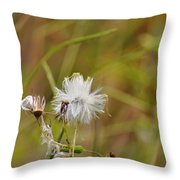 Gone To Seed Throw Pillow