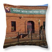 Gone With The Wind Museum Throw Pillow