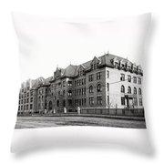 Gonzaga College Spokane 1900 Throw Pillow by Daniel Hagerman
