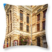 Gonzales County Old Jail Museum - Gonzales Texas Throw Pillow