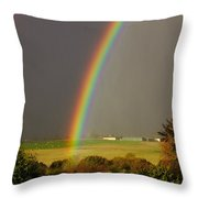 Gonzalo Rainbow Throw Pillow
