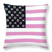 Good And Plenty America Throw Pillow