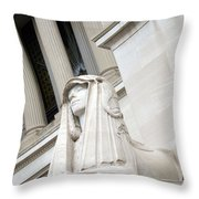 Good Day Sweetie -- A Friendly Sphinx Throw Pillow