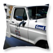 Good Humor Ice Cream Truck 02 Throw Pillow