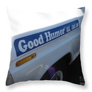 Good Humor Ice Cream Truck 03 Throw Pillow