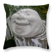 Good Laugh Throw Pillow