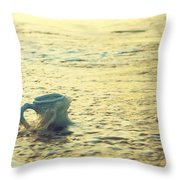 Good Morning Beach Bum Throw Pillow