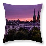 Good Morning Berlin Throw Pillow