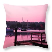 Good Mystic Morning Throw Pillow