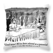 Good News! We've Been Selected As A Potential Throw Pillow
