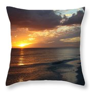 Good Night Sanibel Island Throw Pillow
