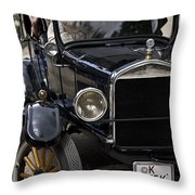 Good Old Times Throw Pillow
