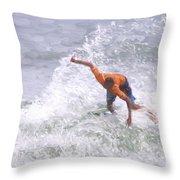 Good Surf Throw Pillow