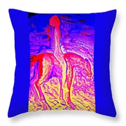 We Had Good Times And Bad Times  Throw Pillow