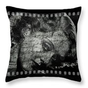 Goodbye Classic America Throw Pillow