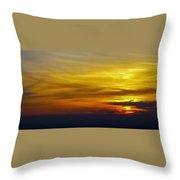 Goodbye Day Throw Pillow