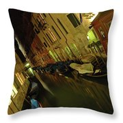 Goodnight Gondola Throw Pillow