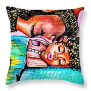 Goodnight Kiss Throw Pillow