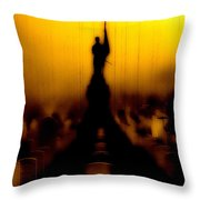 Goodnight My Fallen Brothers Throw Pillow