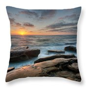 Goodnight Windnsea Throw Pillow