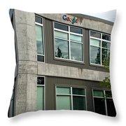Google Office Throw Pillow