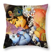 Gopalji Throw Pillow