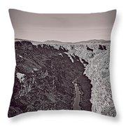 Gorge Throw Pillow